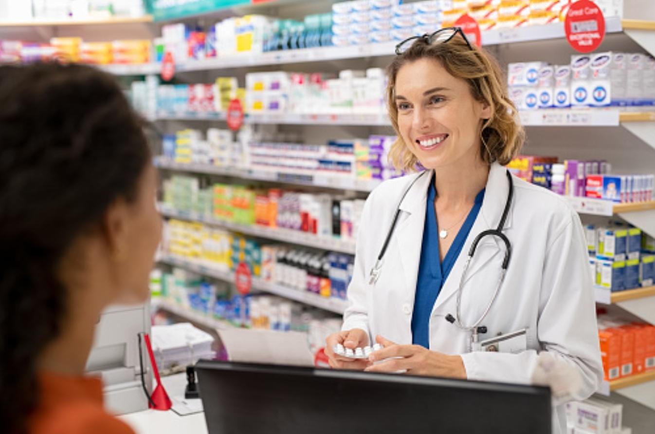 Sales in pharmaceuticals